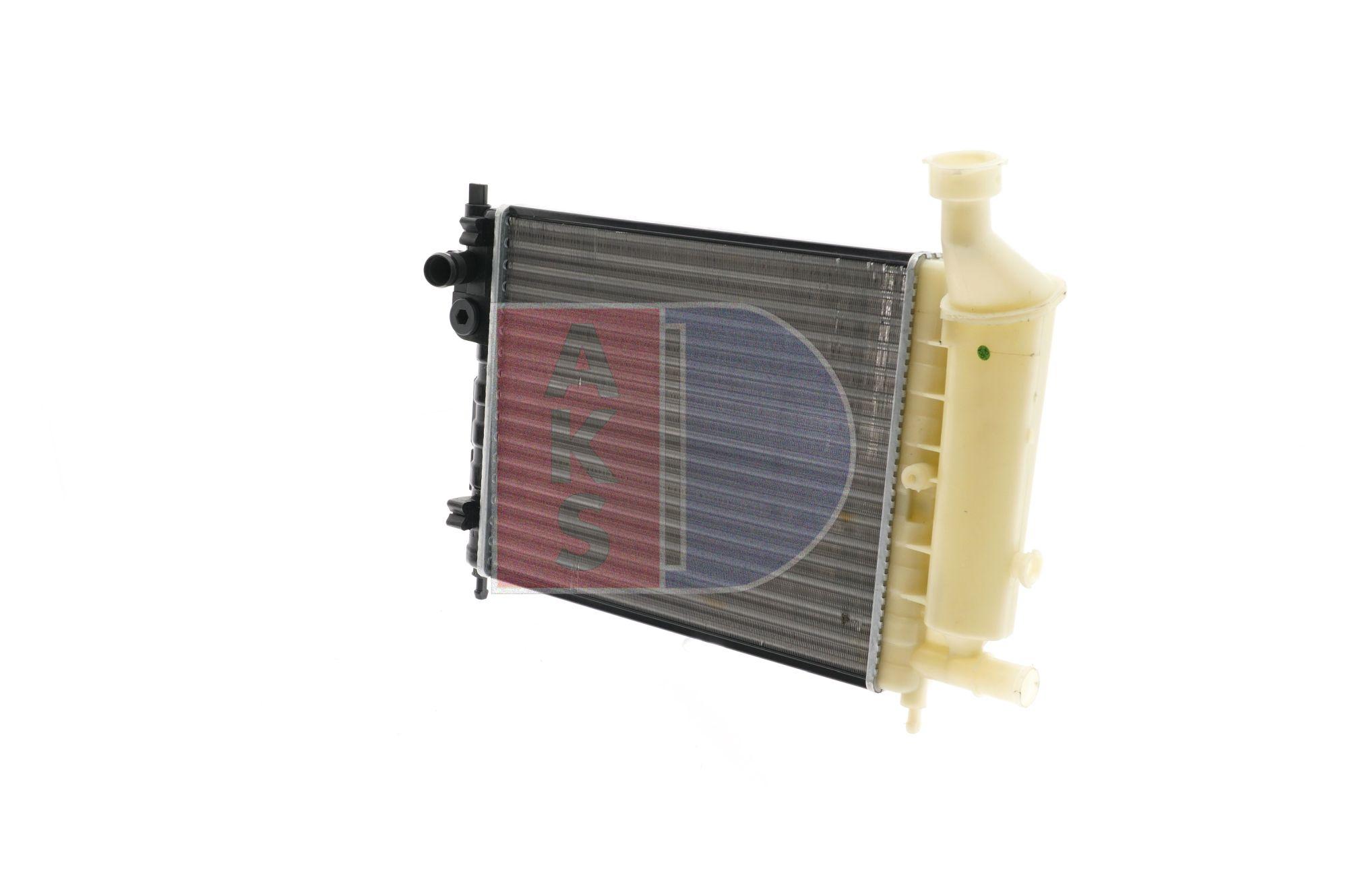 AKS DASIS Aluminium, Kühlrippen mechanisch gefügt 060380N