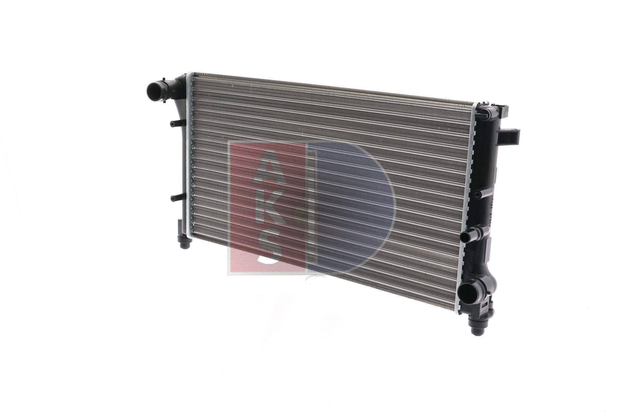 Radiator, engine cooling 080067N PANDA (169) 1.2 MY 2011