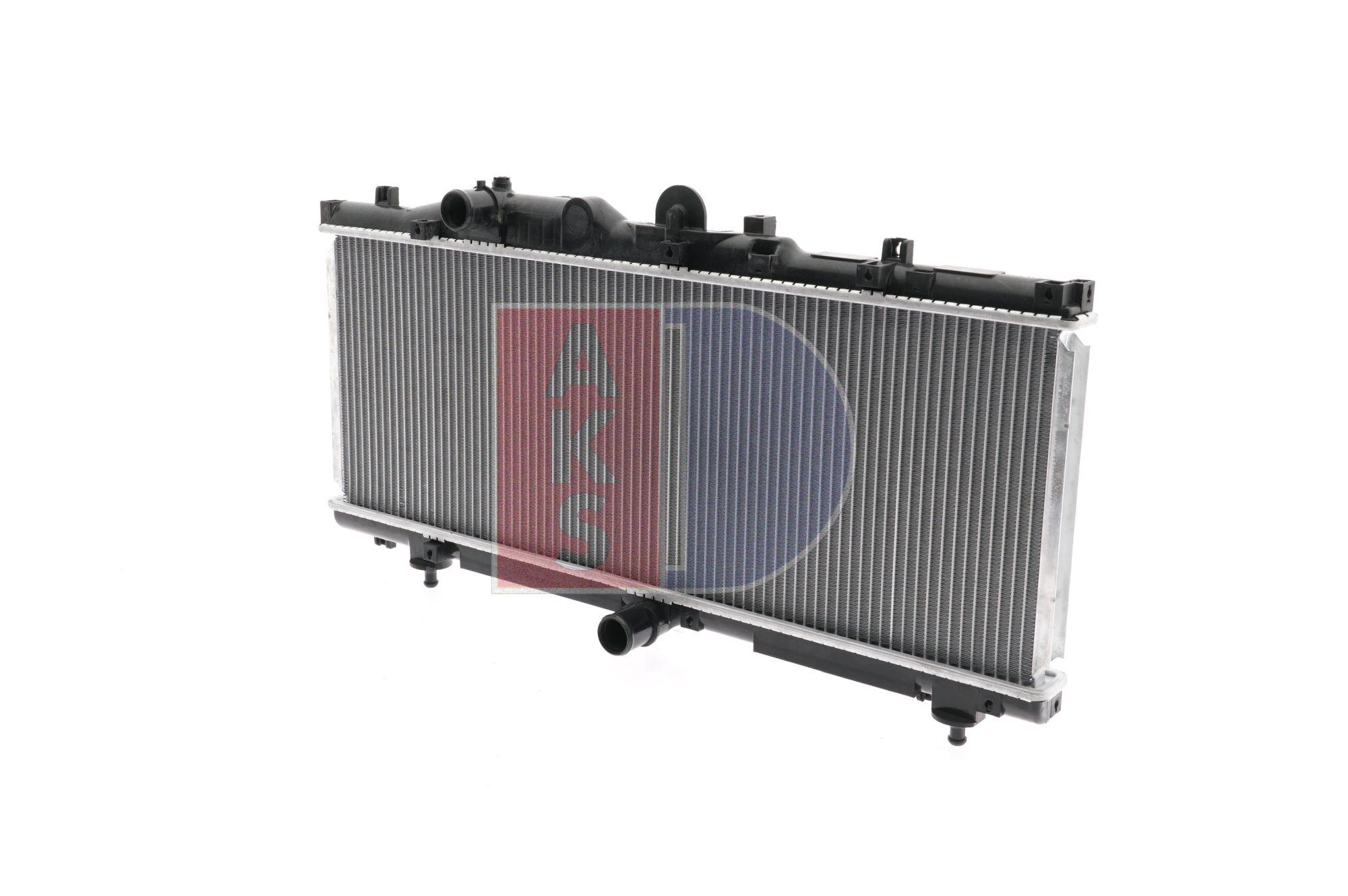 AKS DASIS Aluminium, Kühlrippen gelötet 080570N