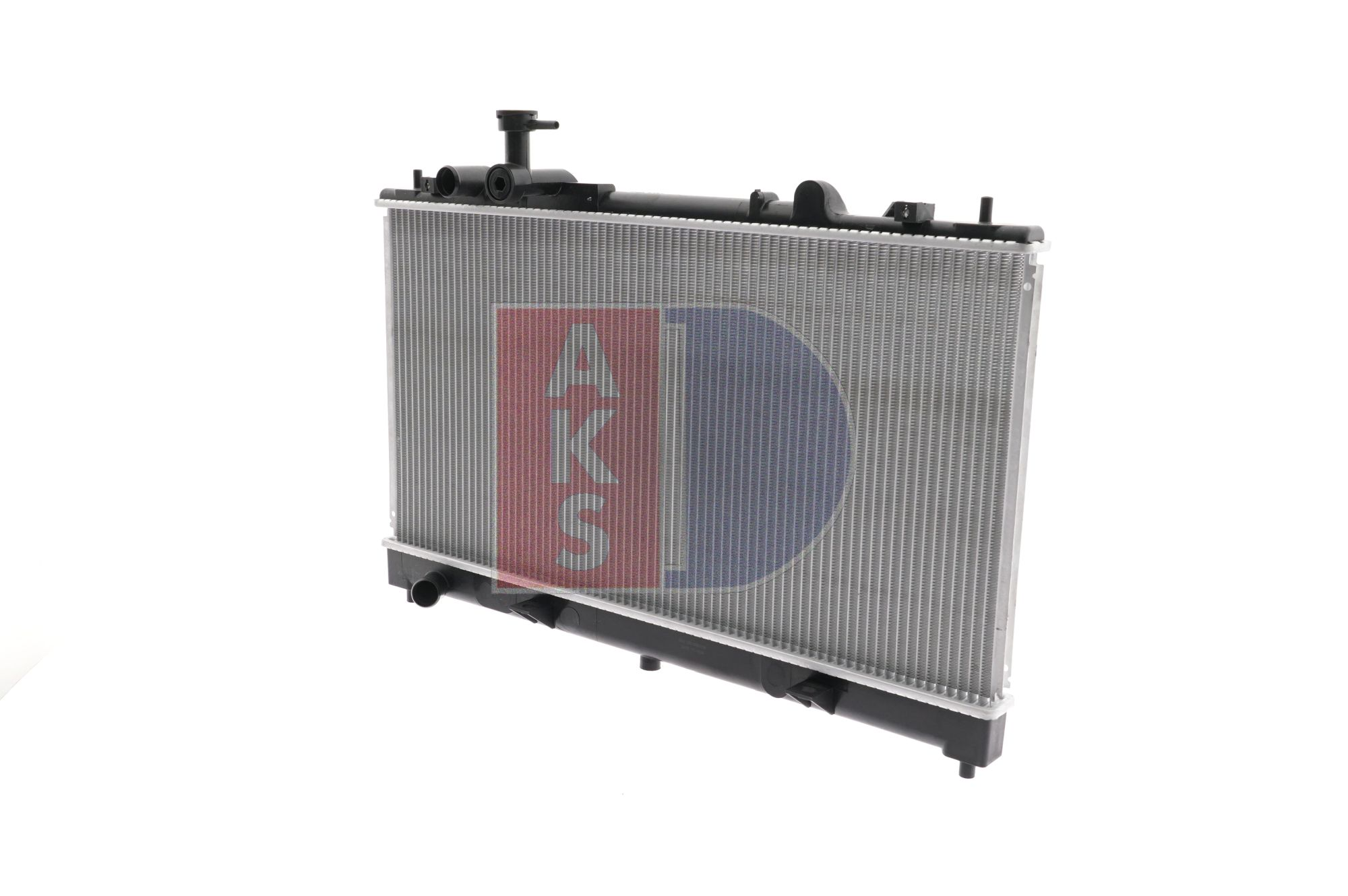 Radiador de motor AKS DASIS 1721919 Aletas refrigeración soldadas