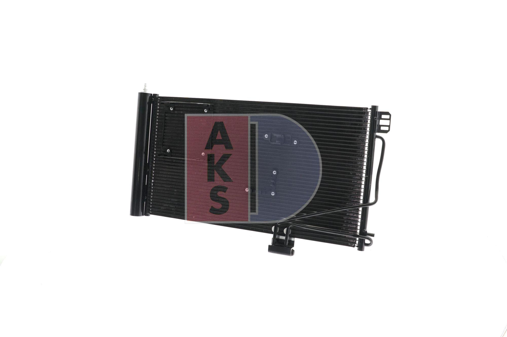 Kondensator, Klimaanlage Netzmaße: 640x371x16 mit OEM-Nummer A 2035001354