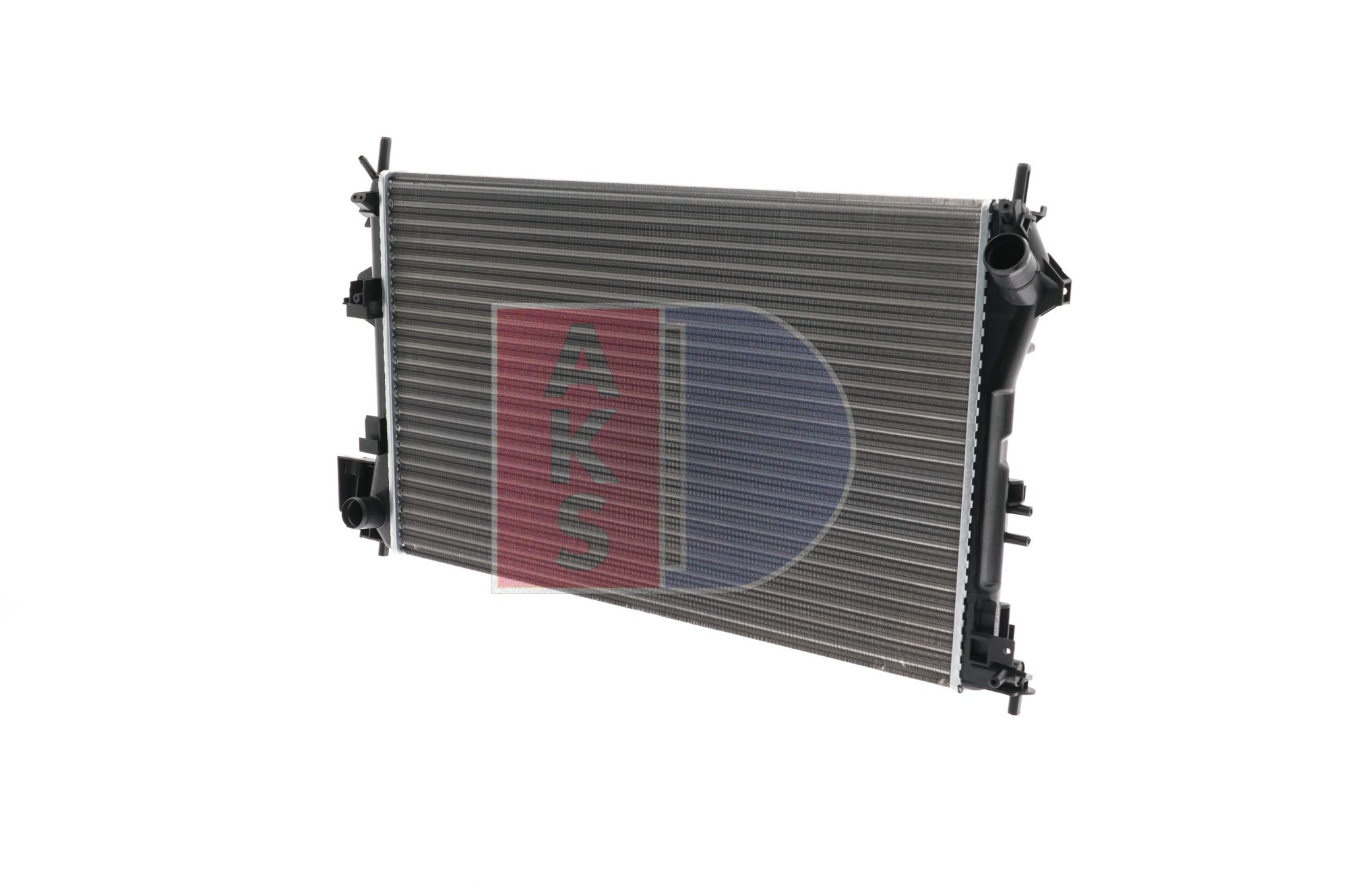 AKS DASIS Radiatore motore SAAB Alette di raffreddamento montate meccanicamente