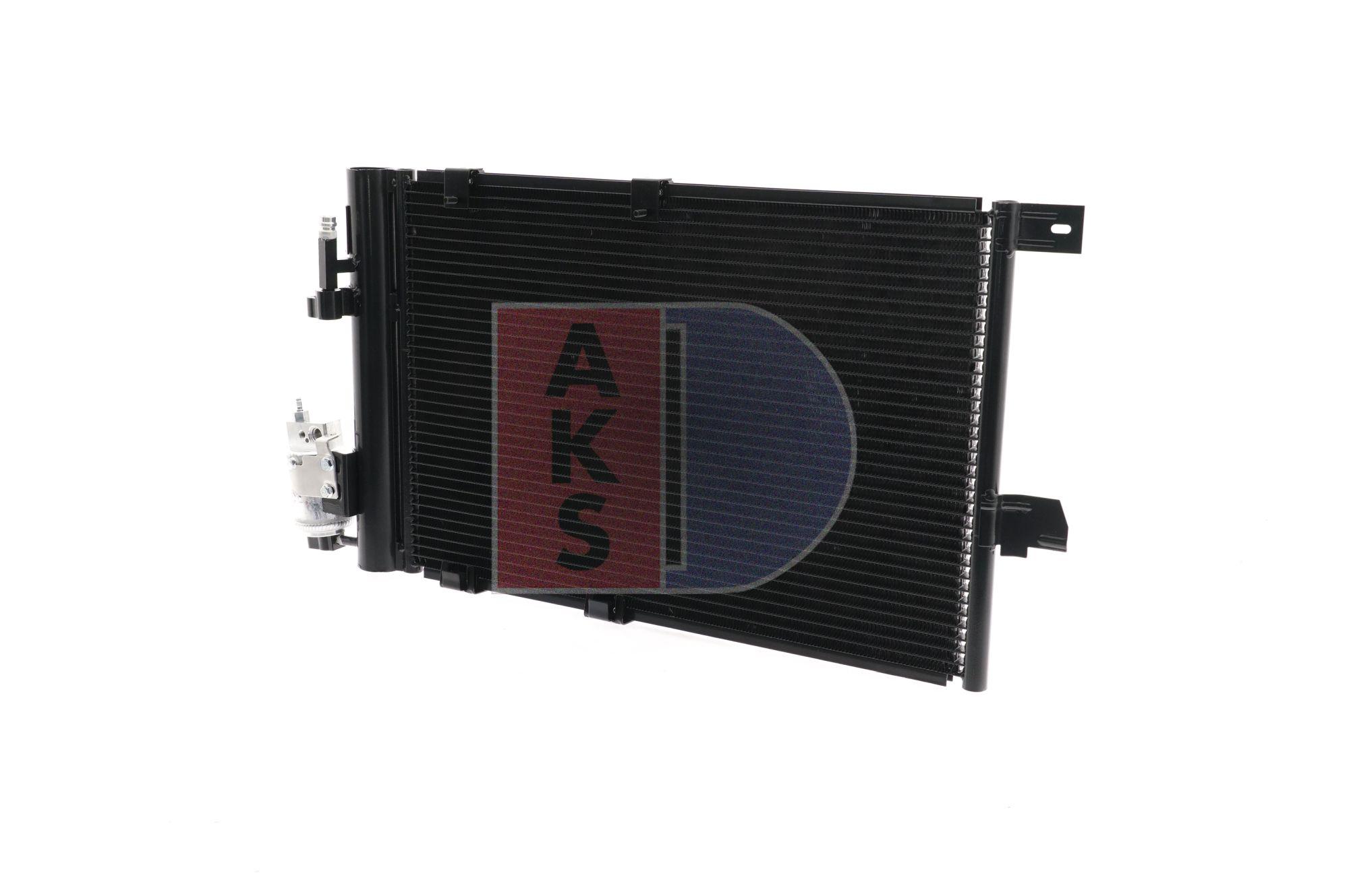 Kondensator, Klimaanlage Netzmaße: 530x382x16 mit OEM-Nummer 1850 074