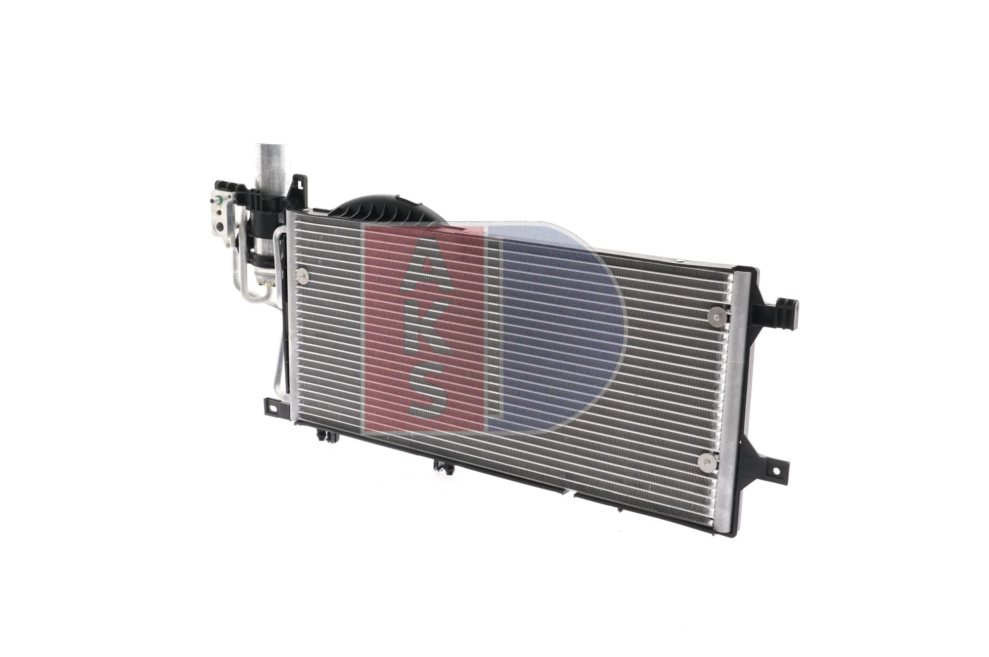 Kondensator, Klimaanlage Netzmaße: 540x263x16 mit OEM-Nummer 18 50 071