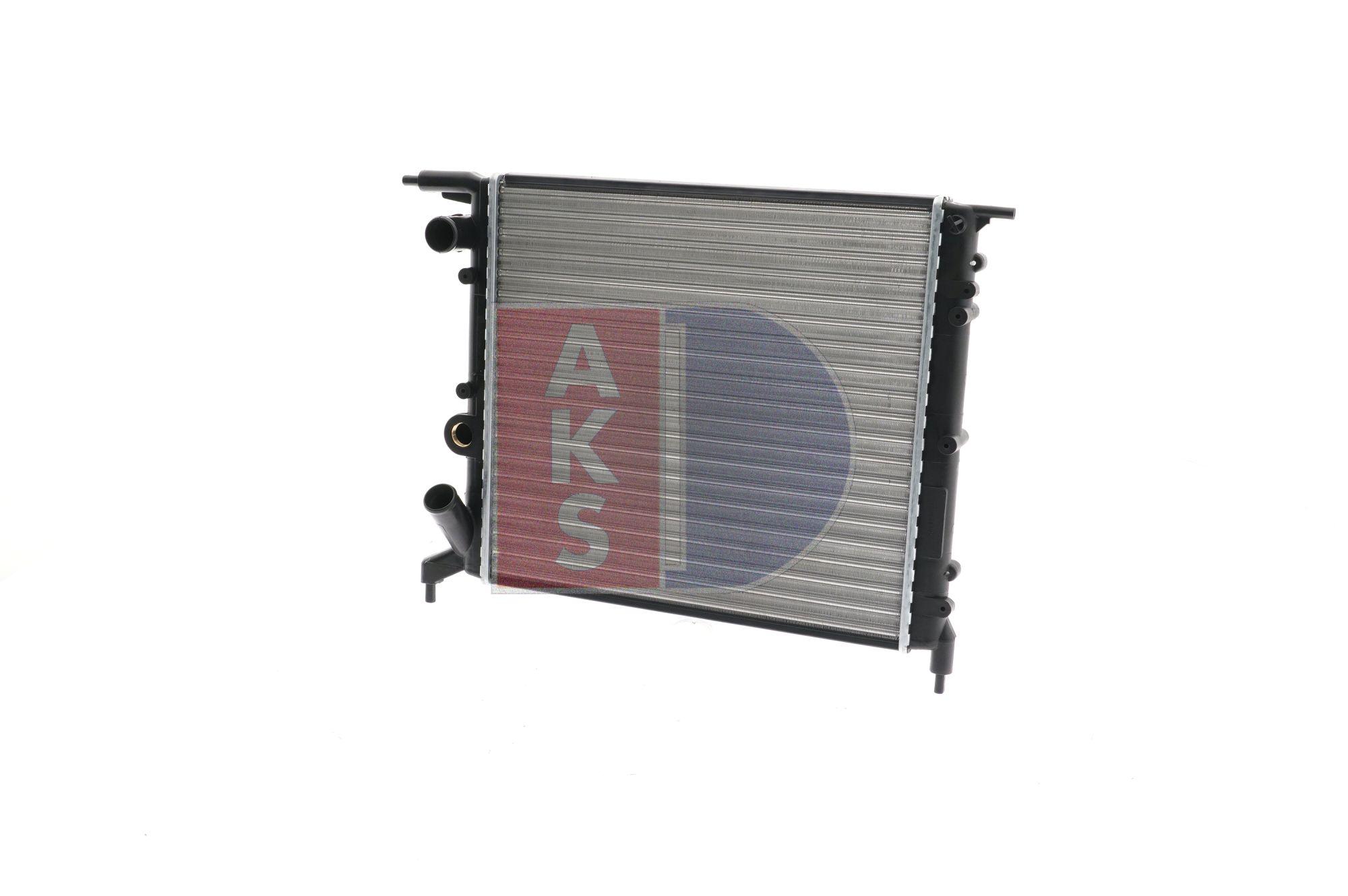 AKS DASIS Aluminium, Kühlrippen mechanisch gefügt 180790N