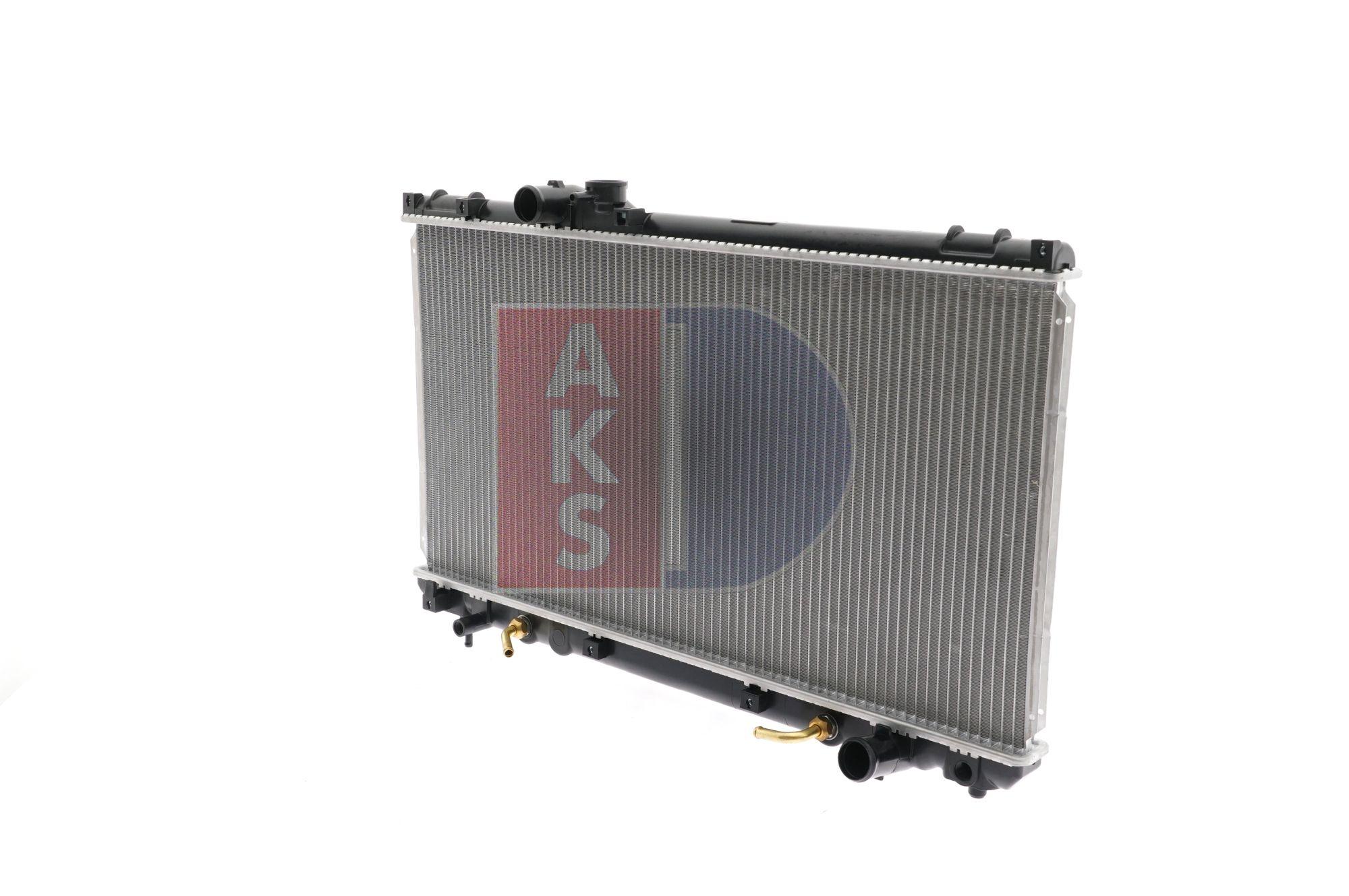 AKS DASIS 210115N Radiator engine cooling