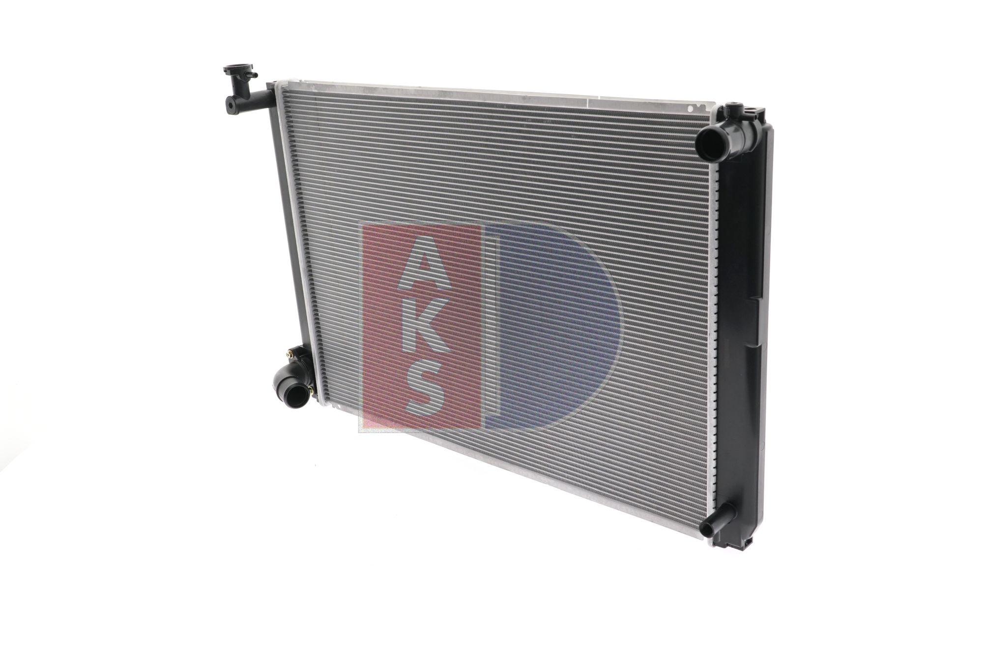 AKS DASIS 210205N Radiator engine cooling