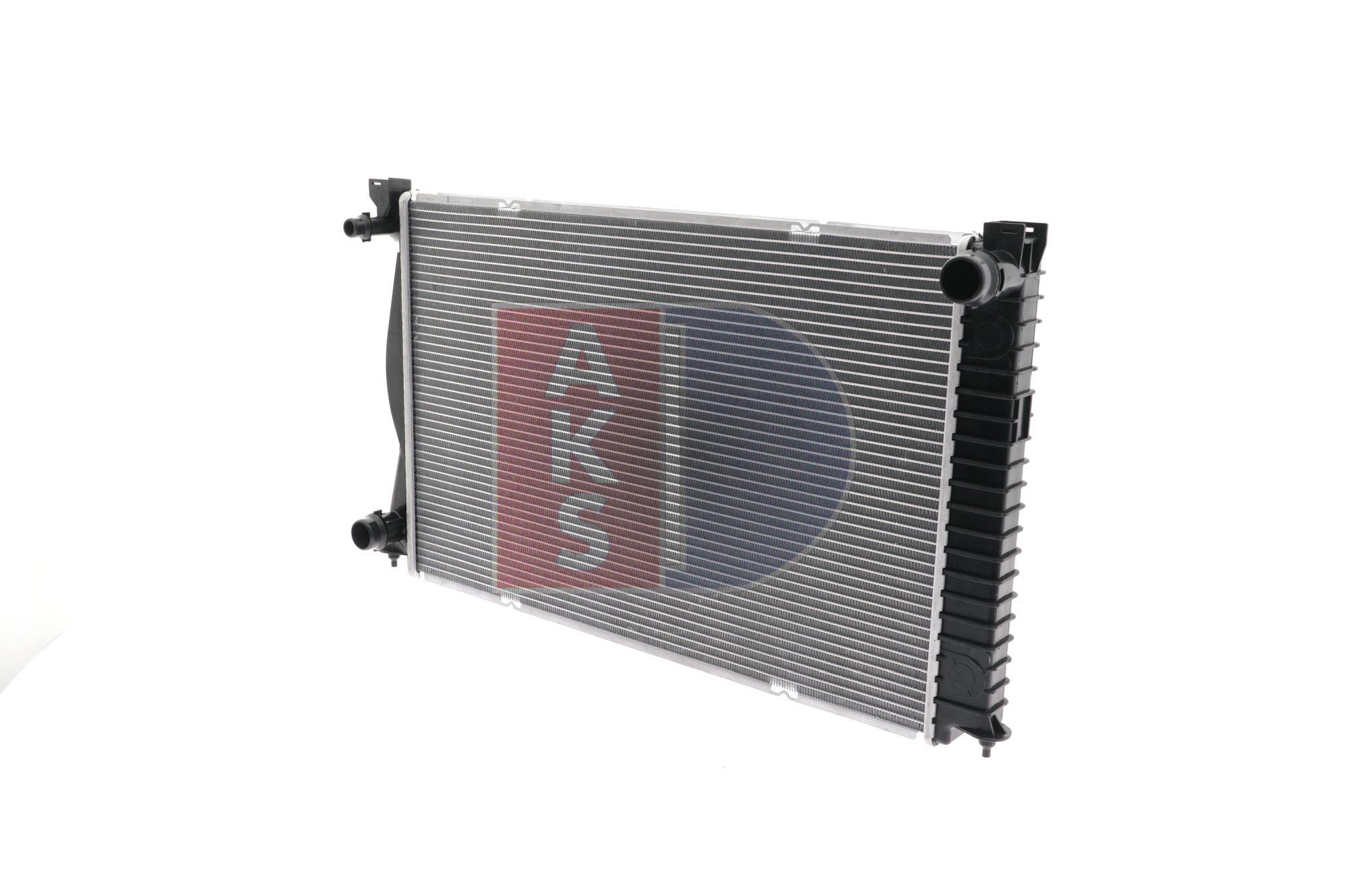 AKS DASIS Aluminium, Kühlrippen gelötet 480052N