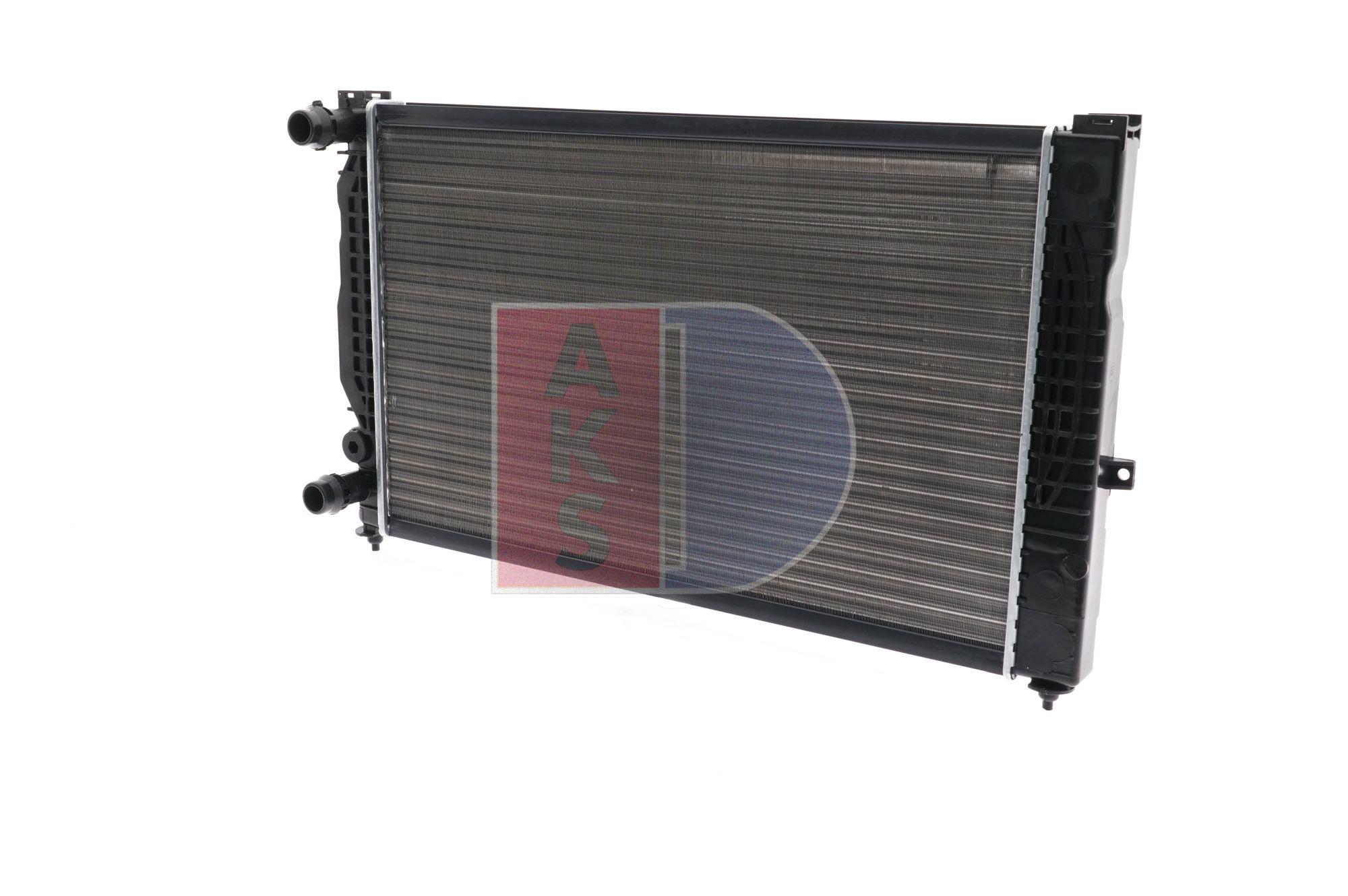 AKS DASIS Kühlrippen mechanisch gefügt, Schaltgetriebe 480390N