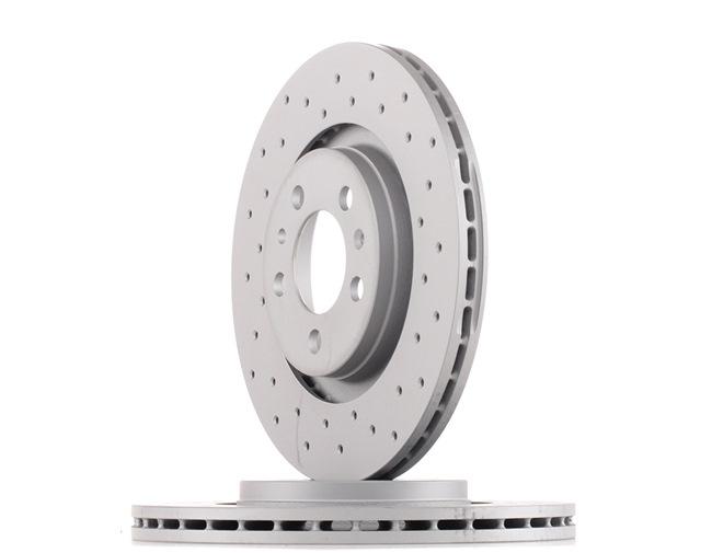 Bremsscheibe Bremsscheibendicke: 22mm, Felge: 5-loch, Ø: 280mm mit OEM-Nummer JZW 615 301