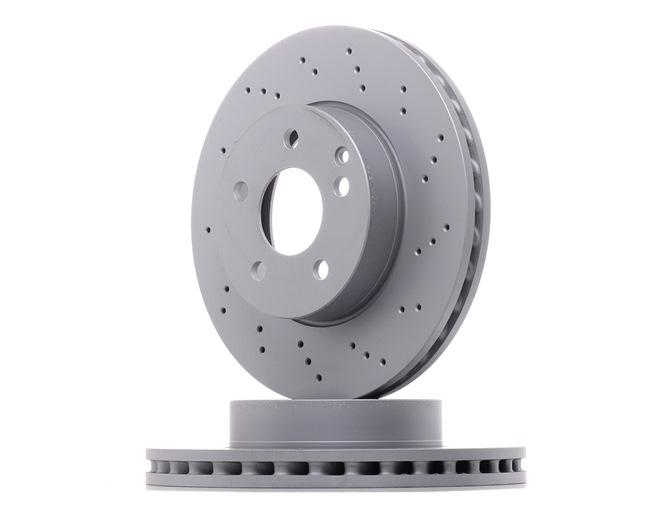 ZIMMERMANN SPORT COAT Z Frenos de disco MERCEDES-BENZ Ventilación interna, Perforado, revestido, altamente carbonizado