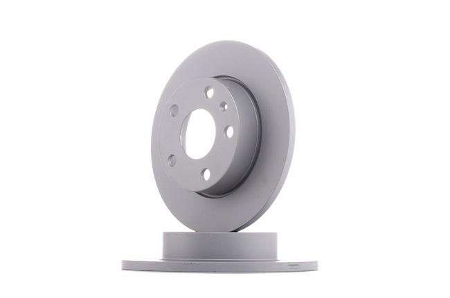 Bremsscheibe Bremsscheibendicke: 12mm, Lochanzahl: 5, Ø: 256mm mit OEM-Nummer 1K0 615 601AJ