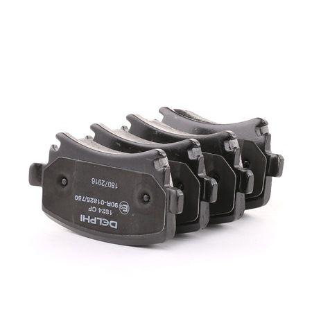 Bremsbelagsatz, Scheibenbremse Höhe: 56mm, Dicke/Stärke 2: 18mm mit OEM-Nummer 1K0 698 451H