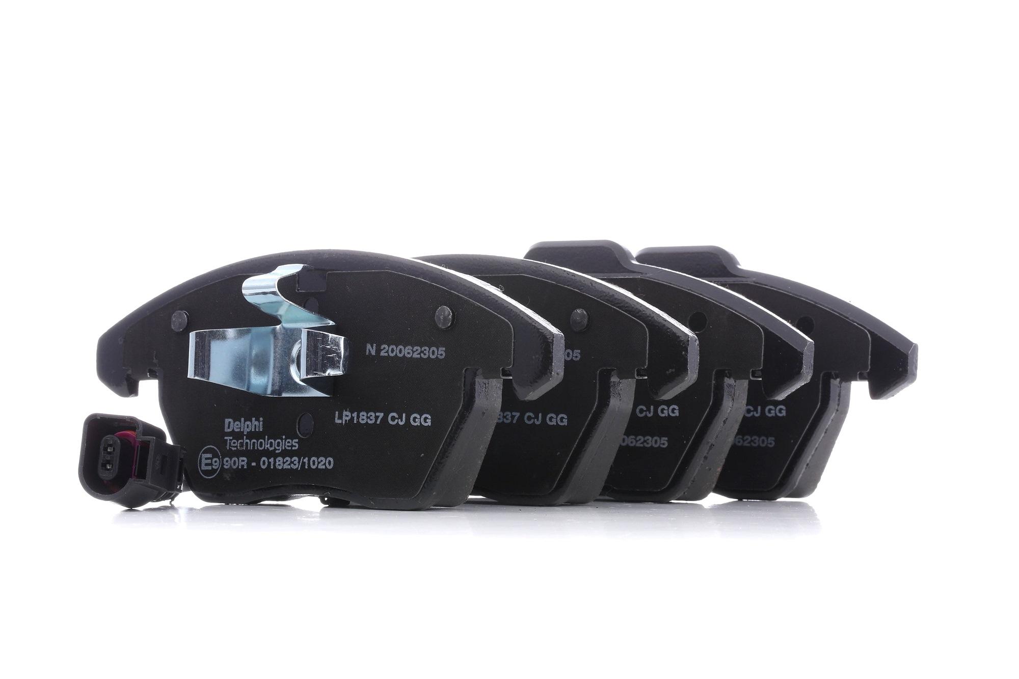 Bremsbelagsatz DELPHI D11078212 Bewertung