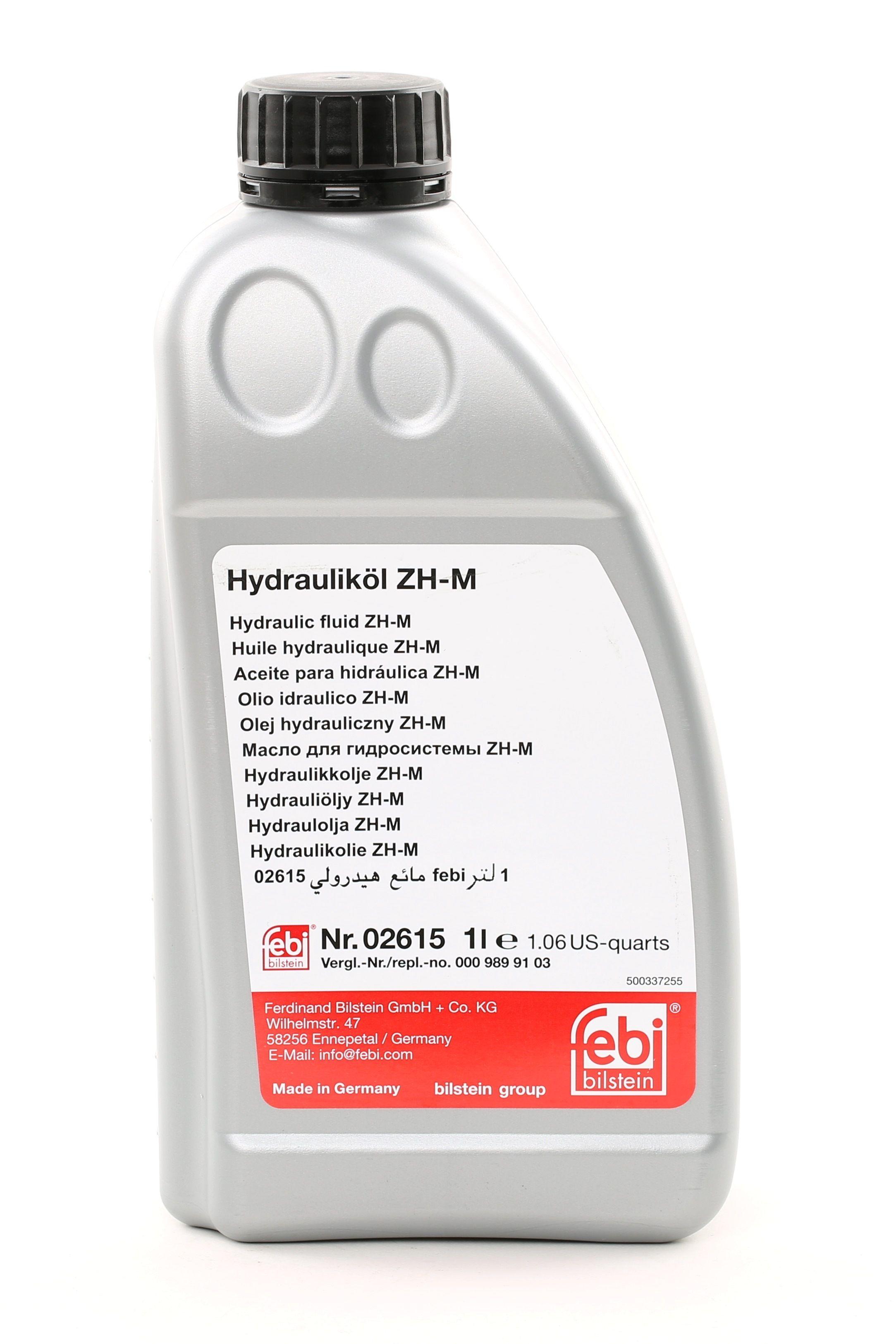 Hydrauliköl FEBI BILSTEIN 02615 Bewertung