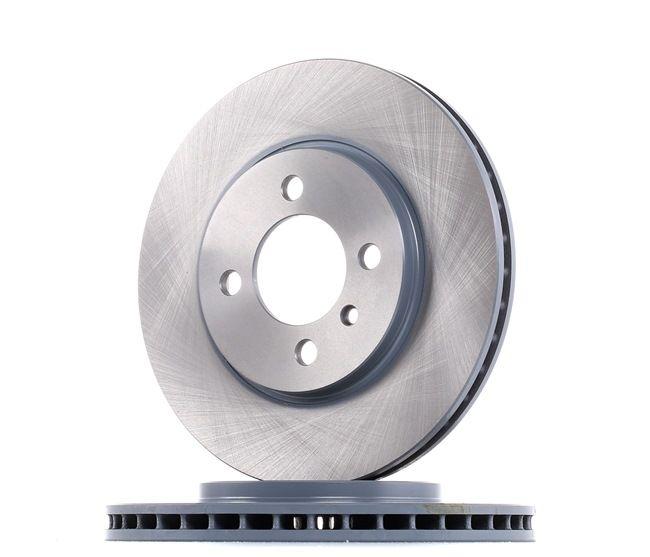 Frenos de disco FEBI BILSTEIN 1867838 Eje delantero, Ventilación interna, revestido