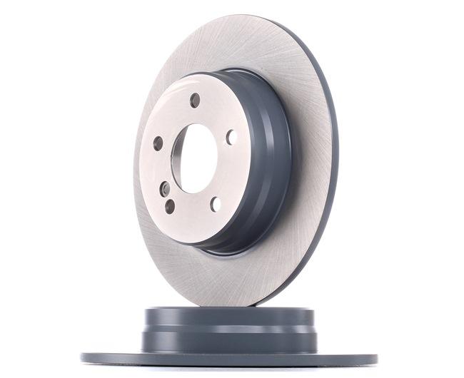 Brake discs and rotors FEBI BILSTEIN 1868196 Rear Axle, Solid, Coated