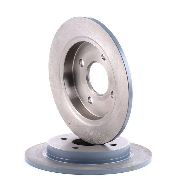 Brake discs and rotors FEBI BILSTEIN 1868854 Rear Axle, Solid, Coated