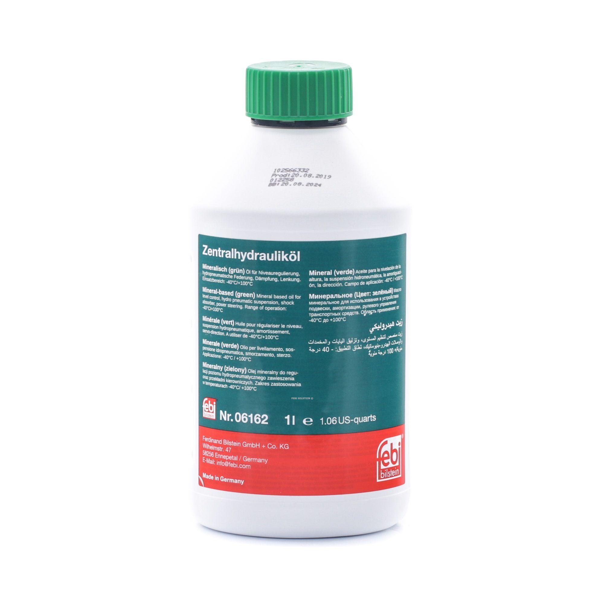 Aceite hidráulico FEBI BILSTEIN BMW81229407549 evaluación