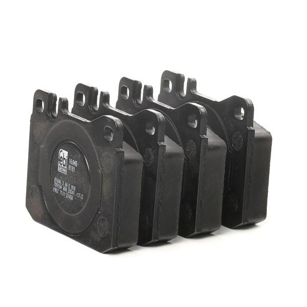 Bremsbelagsatz, Scheibenbremse Breite: 73,8mm, Dicke/Stärke 1: 17,5mm mit OEM-Nummer A 000 420 9520