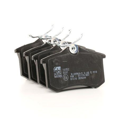Bremsbelagsatz, Scheibenbremse Breite: 52,9mm, Dicke/Stärke 1: 16mm mit OEM-Nummer 42.5467