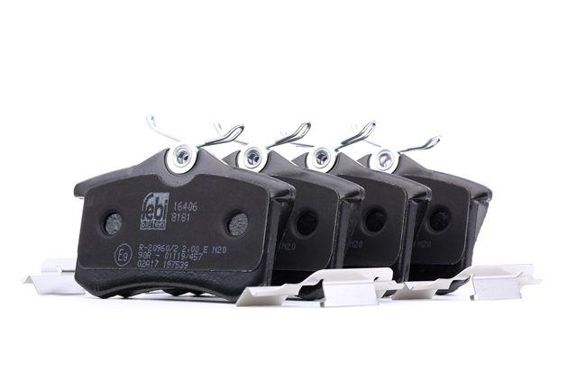 Bremsbelagsatz, Scheibenbremse Breite: 52,9mm, Dicke/Stärke 1: 17mm mit OEM-Nummer E172204
