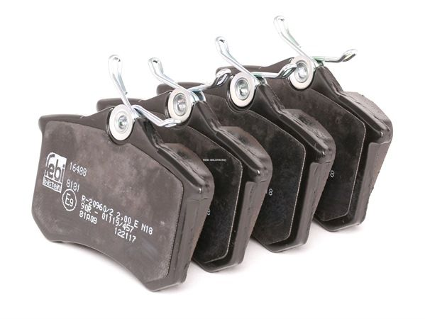 Bremsbelagsatz, Scheibenbremse Breite: 52,9mm, Dicke/Stärke 1: 16,8mm, 17mm mit OEM-Nummer 1J0698451F