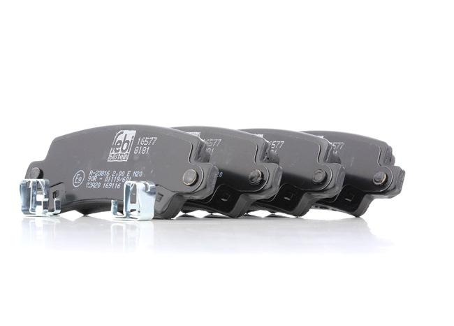 Bremsbelagsatz, Scheibenbremse Breite: 38,0mm, Dicke/Stärke 1: 14,5mm mit OEM-Nummer 04466 02020