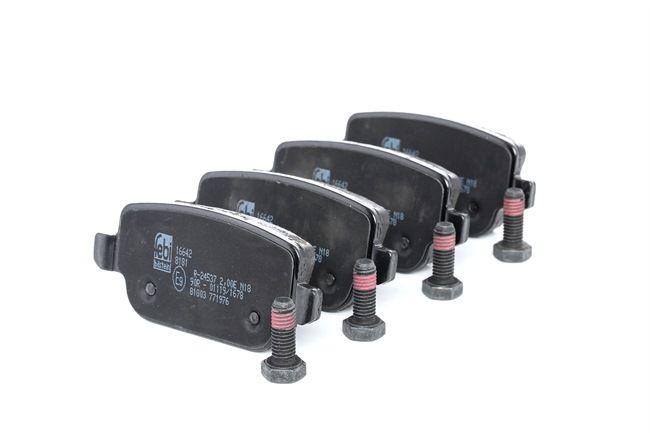 Bremseklosser FEBI BILSTEIN 24537 bakaksel, ekskl. slitasjevarselkontakt, uten koblingsapparat