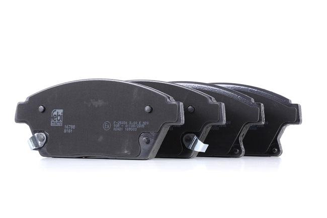Bremsbelagsatz, Scheibenbremse Breite: 61,2mm, Dicke/Stärke 1: 19mm mit OEM-Nummer 542 115