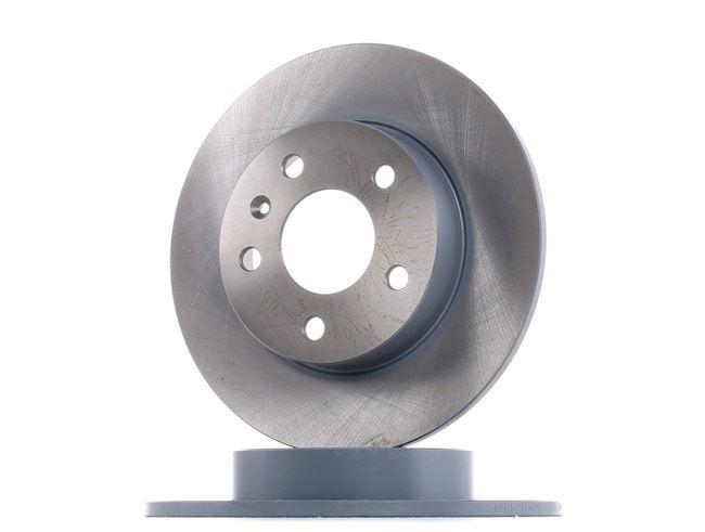 Bremsscheibe Bremsscheibendicke: 10mm, Ø: 264,0mm mit OEM-Nummer 9 117 772