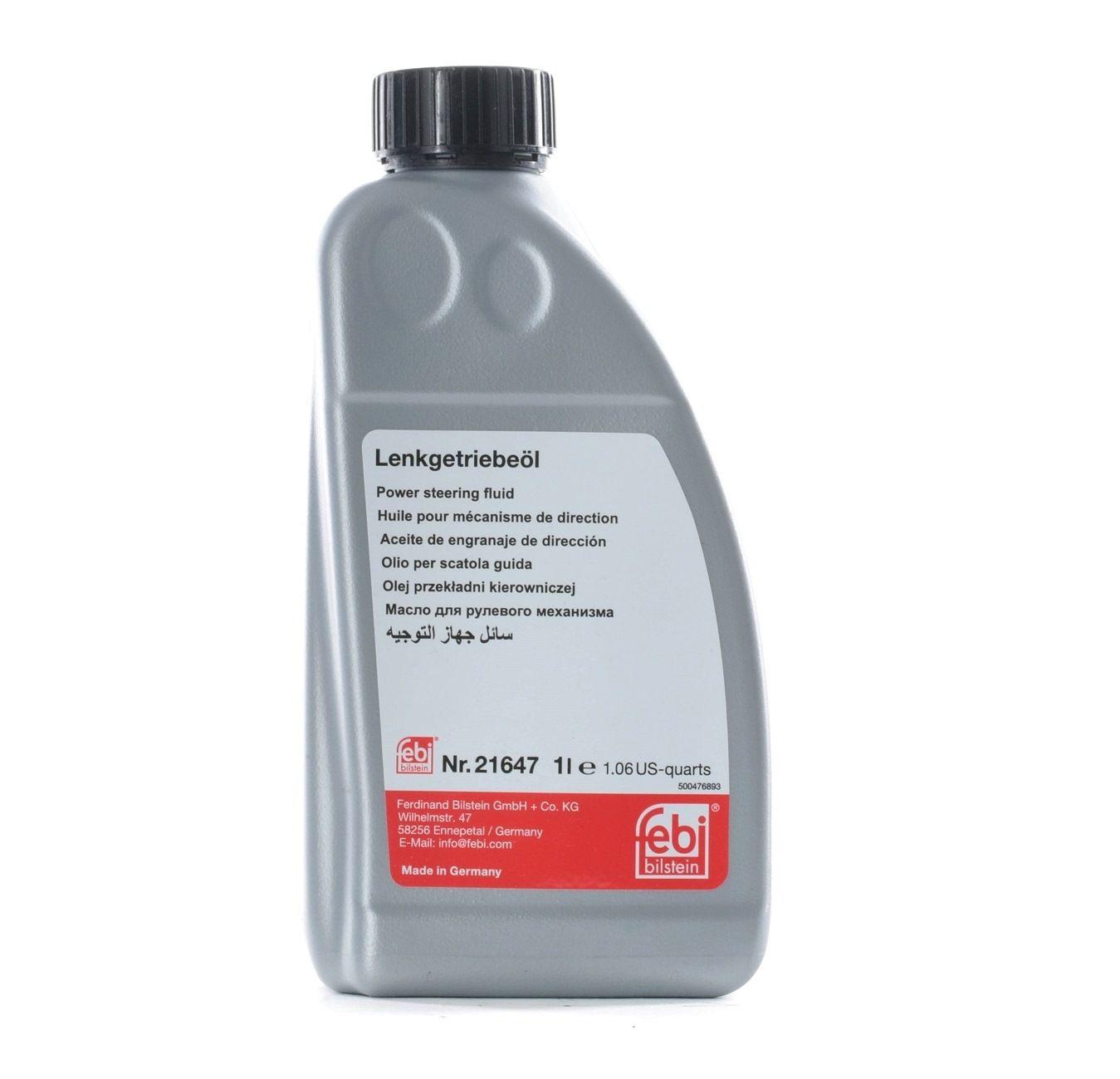 Hydrauliköl FEBI BILSTEIN 21647 Bewertung