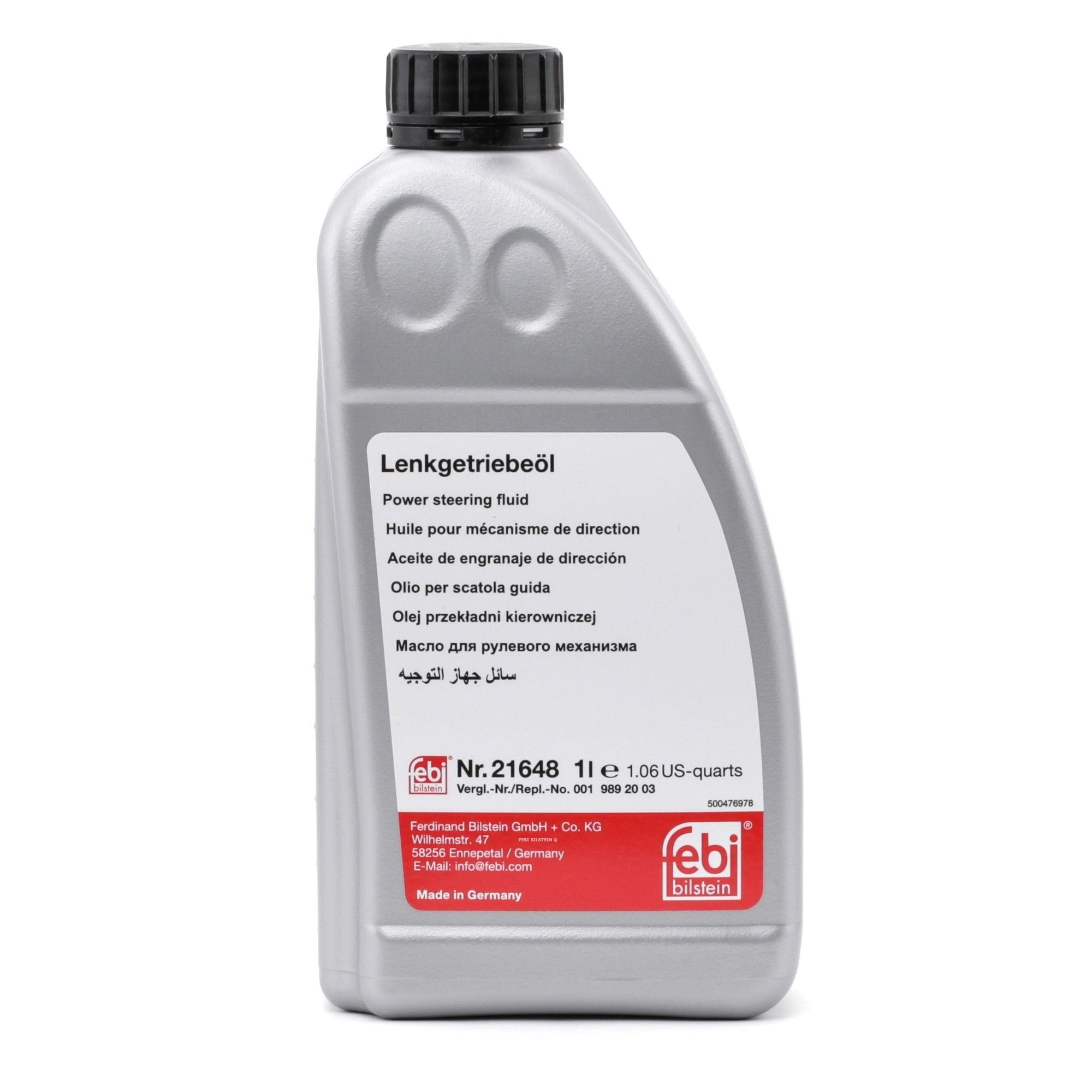Hydrauliköl FEBI BILSTEIN 21648 Bewertung