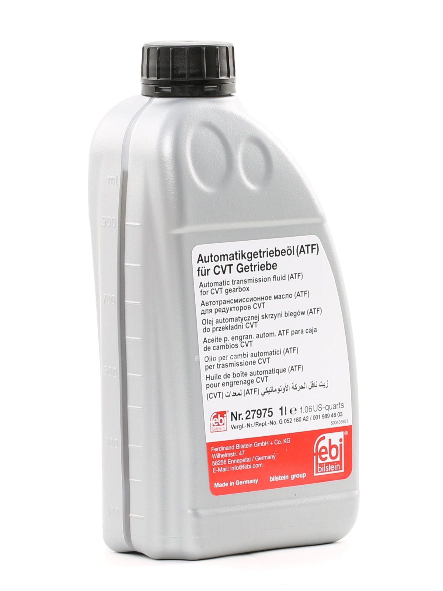 Automatikgetriebeöl FEBI BILSTEIN VWTL52116 Bewertung