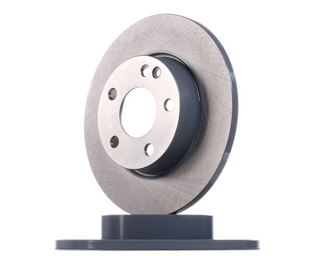 Bremsscheibe Bremsscheibendicke: 12mm, Ø: 276,0mm mit OEM-Nummer A169 421 0012
