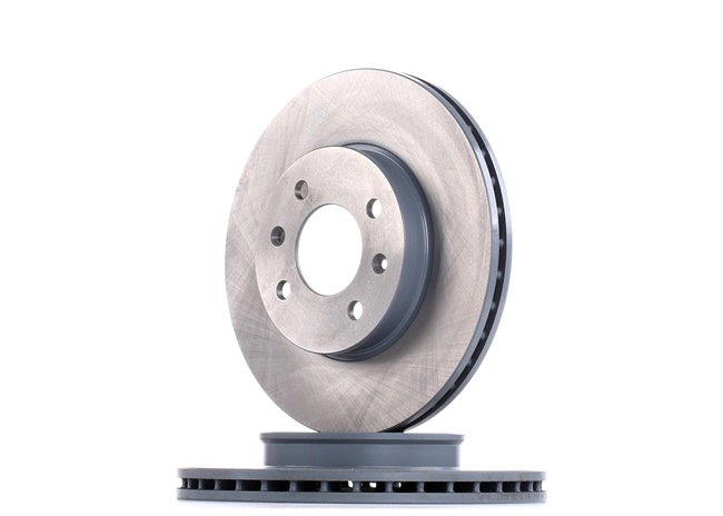 Brake discs and rotors FEBI BILSTEIN 1887395 Front Axle, Internally Vented, Coated