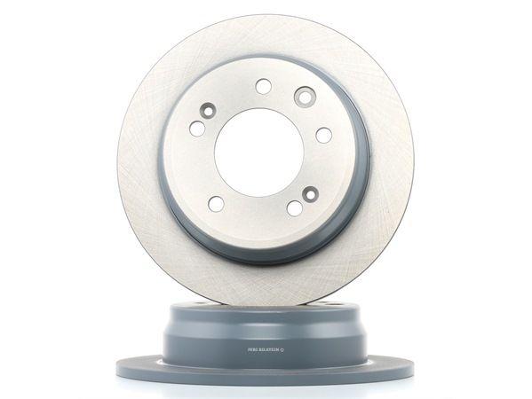 Brake discs and rotors FEBI BILSTEIN 1887431 Rear Axle, Solid, Coated