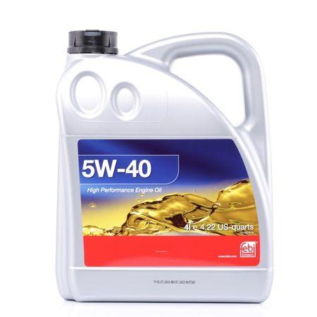 Motoröl BMW E39 5W-40, Inhalt: 4l, Synthetiköl