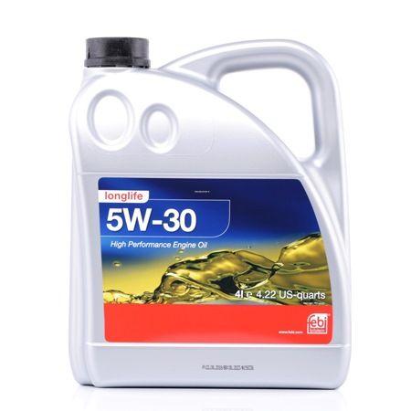 Engine Oil VW502005050050501 FEBI BILSTEIN 5W-30, Capacity: 4l