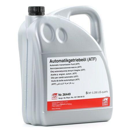 FEBI BILSTEIN Aceite de diferencial Capacidad: 5L