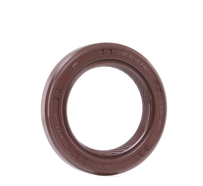 CORTECO Tesnici krouzek hridele, klikovy hridel přední, vepředu, FPM (Fluor-Kautschuk)