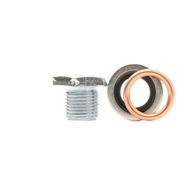 CORTECO Пробка картер M 14 x 1,25 x 12,5, размер на гайч.ключ: 21, с уплътнителен пръстен