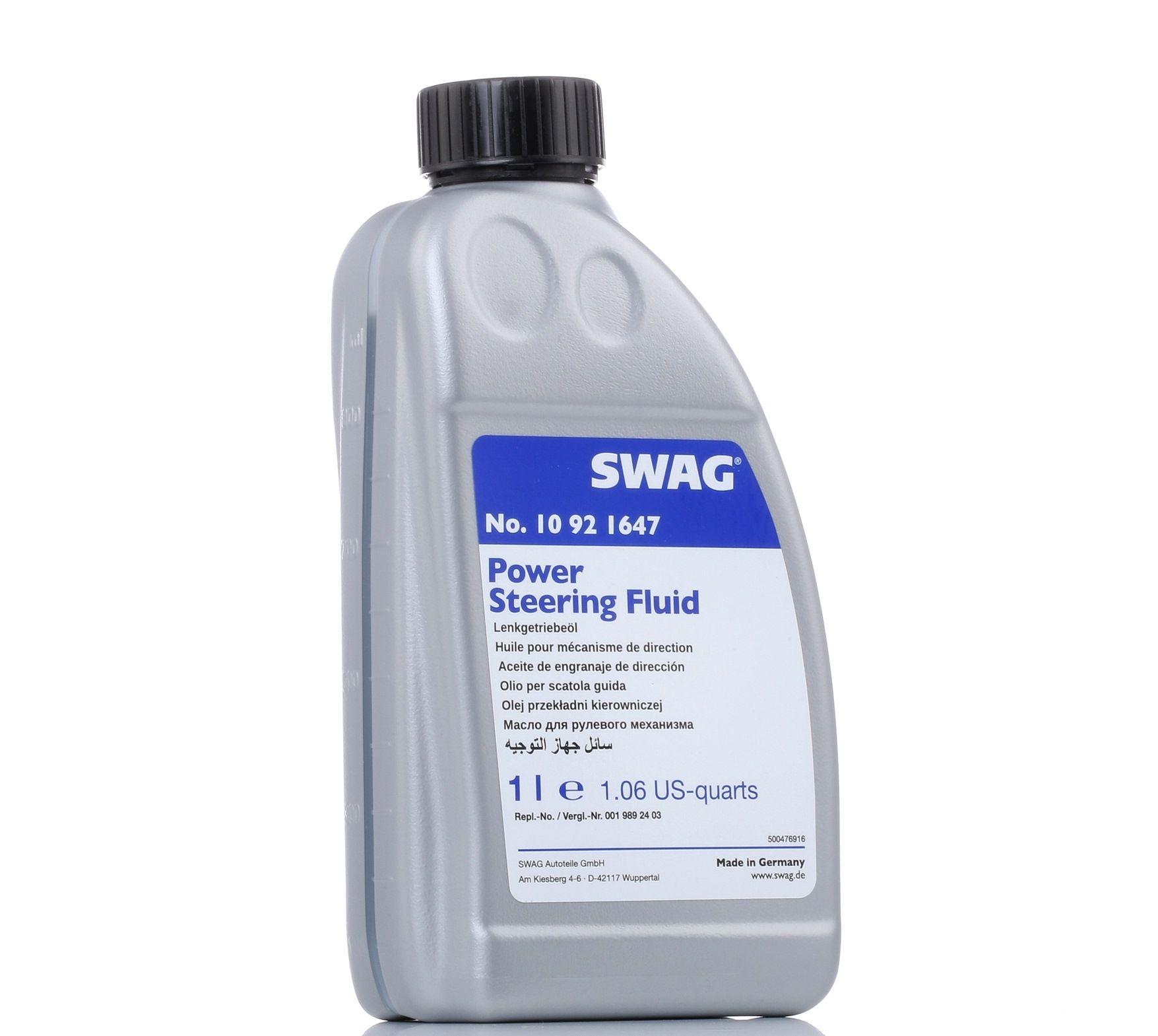 Hydrauliköl SWAG 10 92 1647 Bewertung