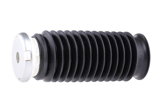 Shock absorber dust cover kit SWAG 2138198 Front Axle, Steel Elastomer