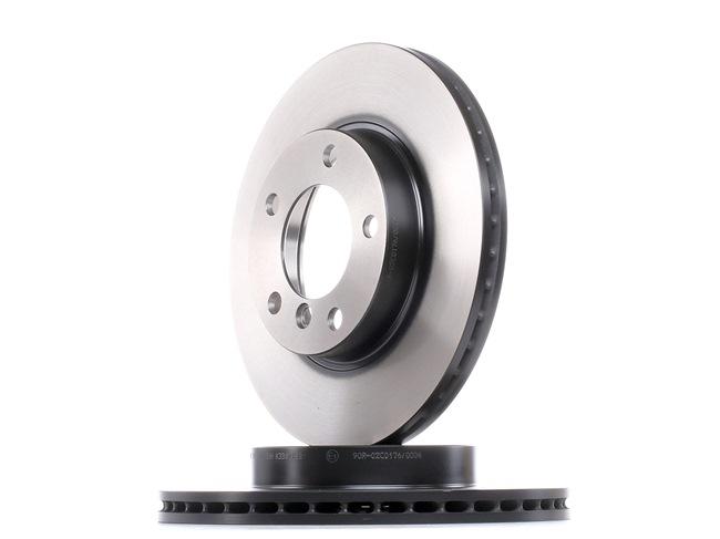 Frenos de disco TRW 2188742 ventilado, barnizado, altamente carbonizado