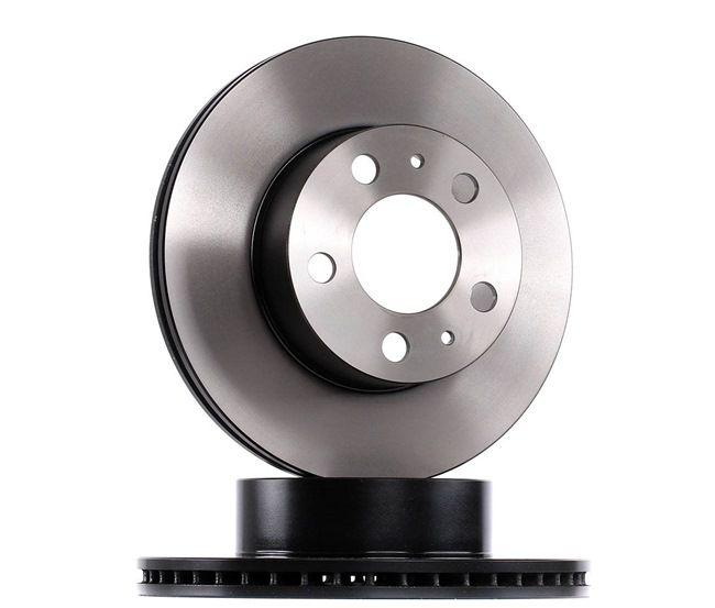 OEM TRW DF1687 VOLVO V70 Disc brake set
