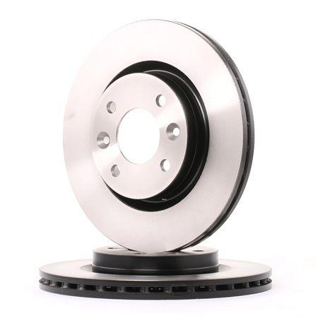Bremsscheibe Bremsscheibendicke: 20,6mm, Lochanzahl: 4, Ø: 259mm mit OEM-Nummer 86 71 005 976