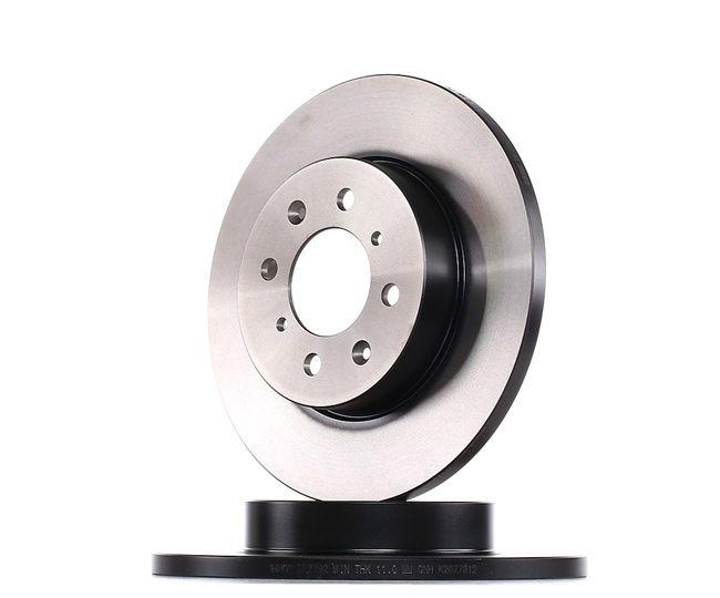 Спирачен диск дебелина на спирачния диск: 13мм, брой на дупките: 4, Ø: 262мм с ОЕМ-номер SDB 100500
