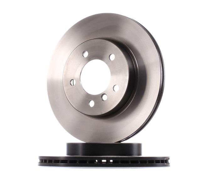 Bremsscheibe Bremsscheibendicke: 22mm, Lochanzahl: 5, Ø: 300mm mit OEM-Nummer 34 11 6 855 152