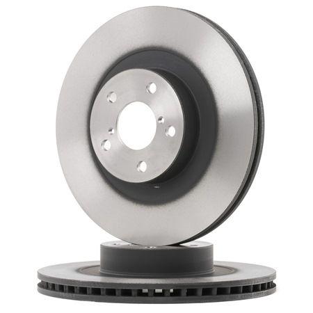 Bremsscheibe Bremsscheibendicke: 24mm, Lochanzahl: 5, Ø: 294mm mit OEM-Nummer 26300FE040